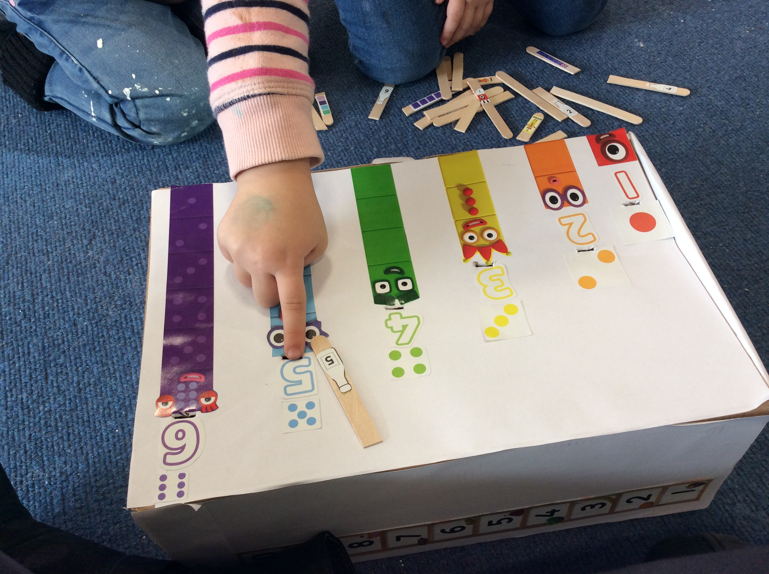 Fun with Number Blocks
