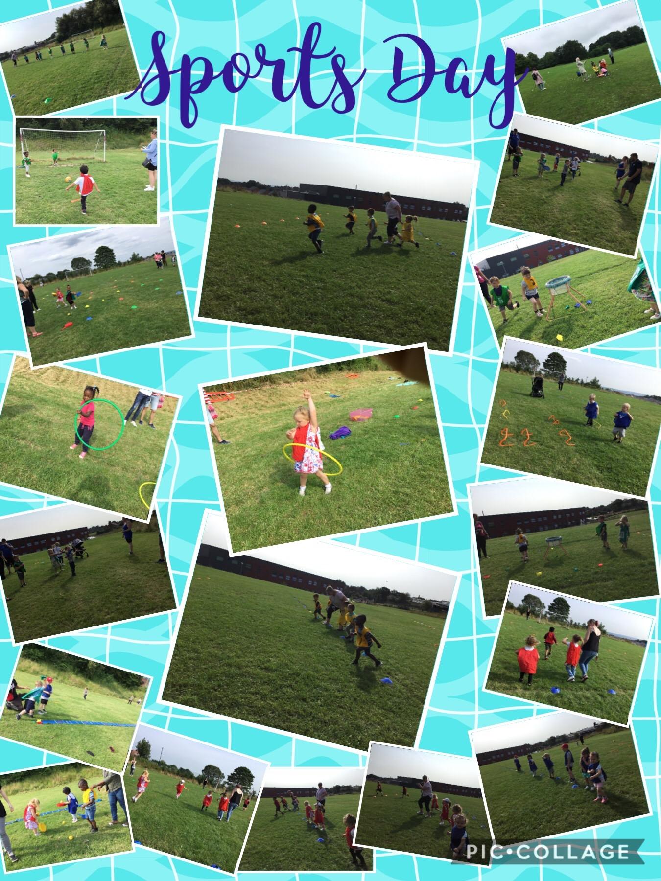 Nursery Sports Day!